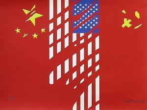 Chine Usa Urss by Gérard Fromanger