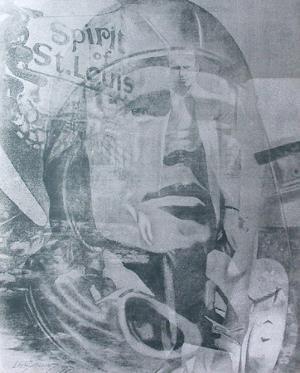 Lindbergh Spirit of Saint Louis by Gérard Larguier