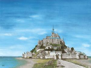Mont Saint Michel by Gerard Malon