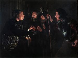 The Denial of Saint Peter, 1620s by Gerard Seghers
