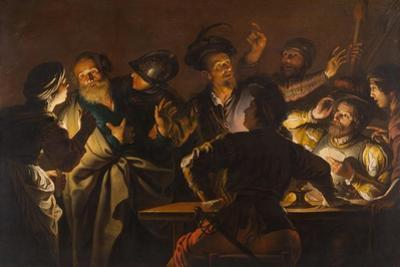 The Denial of St. Peter, c.1620-1625 by Gerard Seghers