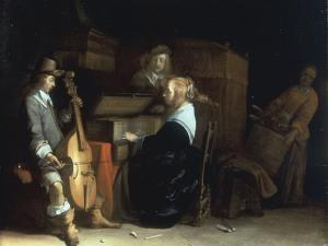 A Music Party by Gerard ter Borch