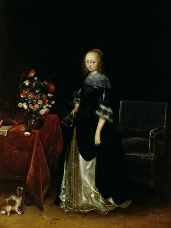 Portrait of a Young Woman, C.1665-70