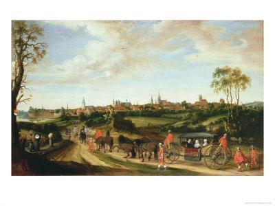 The Dutch Envoy Adriaan Pauw Arriving at Munster, 1648