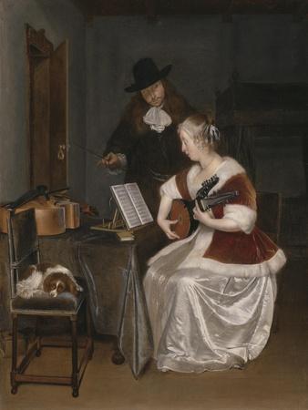 The Music Lesson, C.1670