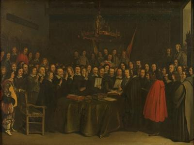 Ratification of the Peace of Münster by Gerard Terborch