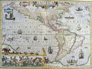 America by Gerardus Mercator