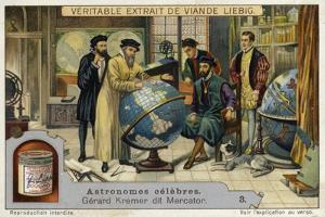 Gerardus Mercator, Flemish Cartographer and Mathematician