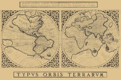 Mercator's World Map, 1524