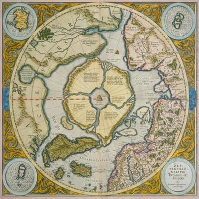 Septentrionalium Terrarum Descriptio, 1595
