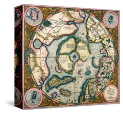 Septentrionalium Terrarum Descriptio, Map of the Arctic, 1595