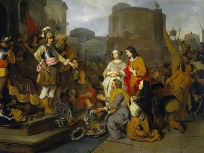 Continence of Scipio, 1650-55 by Gerbrandt Van Den Eeckhout
