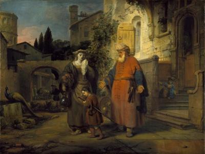 The Expulsion of Hgar and Ishmael, 1666 by Gerbrandt Van Den Eeckhout