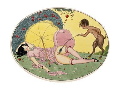 A Satyr and a Young Girl, C.1917