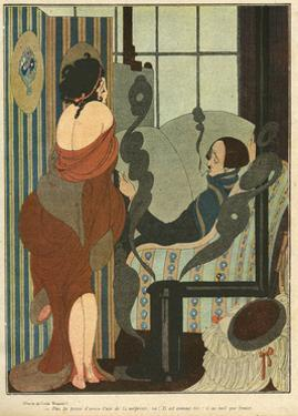 Aesthetic Couple 1919 by Gerda Wegener