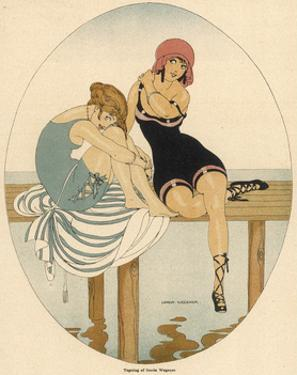 Bathing Beauties 1916 by Gerda Wegener