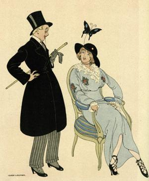 Couple Artistic Dress by Gerda Wegener