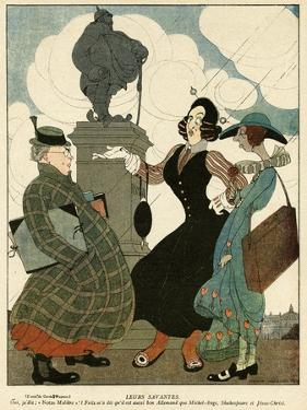 German Women as Seen by the French by Gerda Wegener