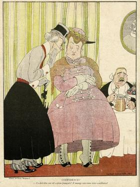 Historical Illustration by Gerda Wegener