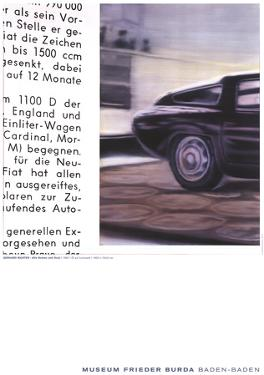 Alfa Romeo by Gerhard Richter