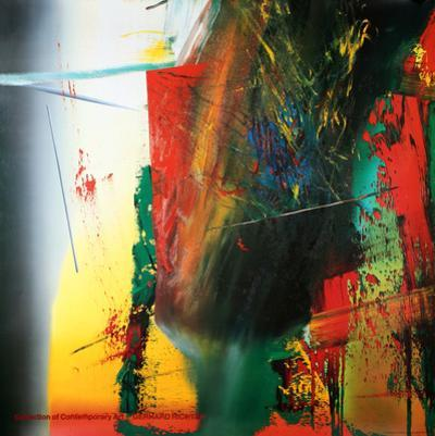 DG, 1985 by Gerhard Richter