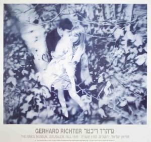 Lovers in the Forest by Gerhard Richter