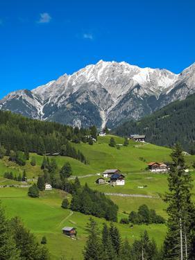 Austria, Tyrol, East Tyrol, Farmhouses by Gerhard Wild