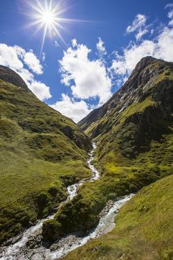 Austria, Tyrol, East Tyrol, Umbaltal, Isel (River), Mountain Stream by Gerhard Wild