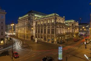 Austria, Vienna, Back View of the State Opera by Gerhard Wild