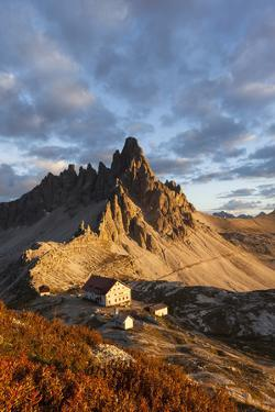 Europe, Italy, South Tyrol, the Dolomites, Paternkofel, Dreizinnenh?tte by Gerhard Wild