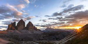 Europe, Italy, South Tyrol, the Dolomites, Tre Cime Di Lavaredo by Gerhard Wild
