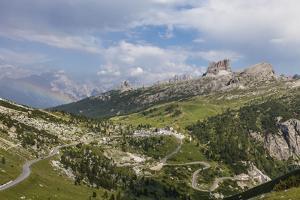 Falzarego Pass', 'Cinque Torri' Behind, Averau, Punta Gallina, Dolomites of 'Ampezzan' by Gerhard Wild