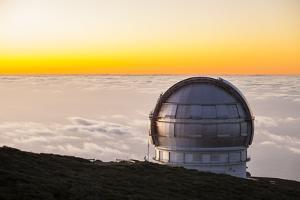 Grain Telescopio Canarias (Gtc), Observatory on Roque De Los Muchachos, Canary Islands by Gerhard Wild