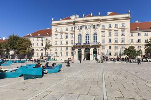 Museumsquartier, Vienna, Austria, Europe by Gerhard Wild