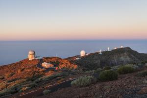Observatory on Roque De Los Muchachos, La Palma, Canary Islands, Spain, Europe by Gerhard Wild