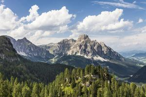 Sassongher, the Dolomites, South Tyrol, Italy, Europe by Gerhard Wild