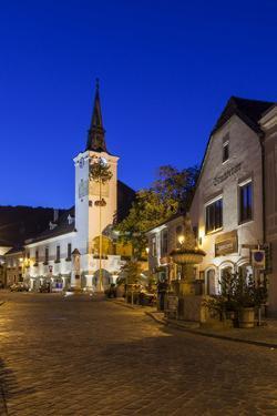 Townscape of Gumpoldskirchen, Lower Austria, Austria, Europe by Gerhard Wild