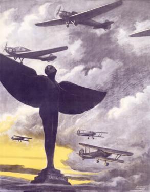 German Air Corps Flight, c.1937