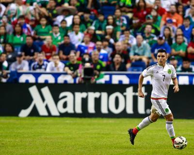 Soccer: Mexico Vs USA by German Alegria