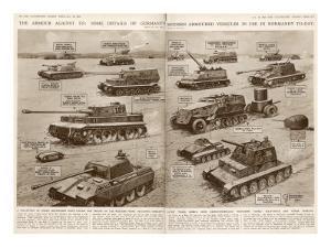 German Armoured Vehicles; Second World War, 1944