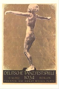 German Dance Festival Poster