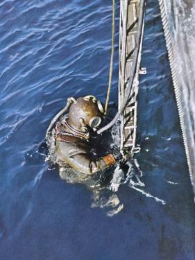 German Diver Goes Down