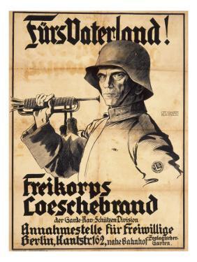 German First World War Poster