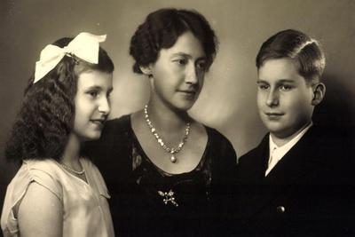 Ak Prinzessin Elisabeth Von Thurn U. Taxis, Anselm Und Iniga