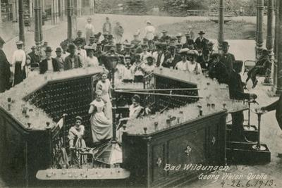 Bad Wildungen. Postcard Sent in 1913 by German photographer