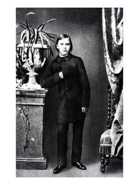 Friedrich Wilhelm Nietzsche, Illustration from 'Nietzsche' by Daniel Halevy, 1861 (B/W Photo) by German photographer