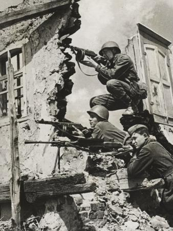 German Snipers, 1941 by German photographer