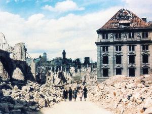 Nuremberg in Ruins, June 1945 by German photographer