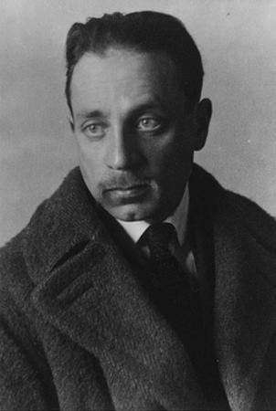 Rainer Maria Rilke (B/W Photo) by German photographer