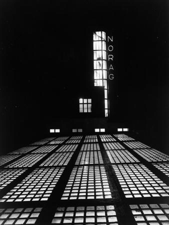 The NORAG (Nordeutscher Rundfunk or NDR) Building in Hamburg, Rothenbaumcha by German photographer